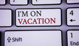 How to handle writing while travelling or on holiday | Publication Coach