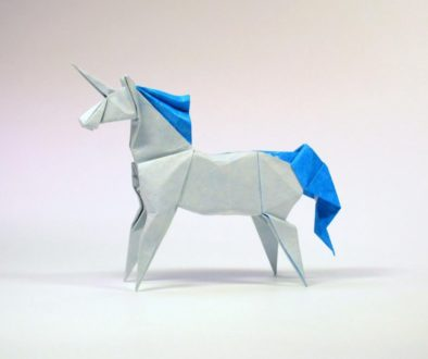 unicorn origami
