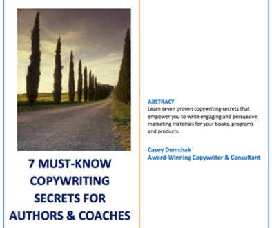 Coaches & Authors: How to Write Media Speaking Points   Casey Demchak
