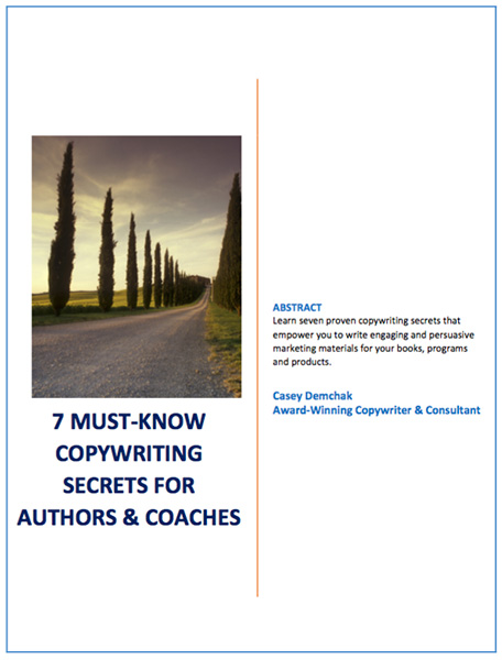 Coaches & Speakers: Book Writing Made Simple! | Casey Demchak