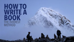 How to Write a Book: The Everest Method