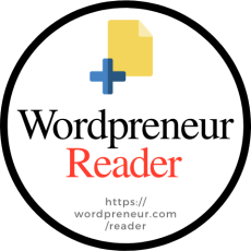 Every new post on Wordpreneur Reader shared on Twitter will sport this label to make them easier to spot on your timeline when one comes through.
