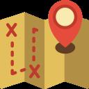 treasure map 128x128